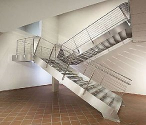 Imagenes de disenos modernos en herreria de acero - Barandales modernos para escaleras ...